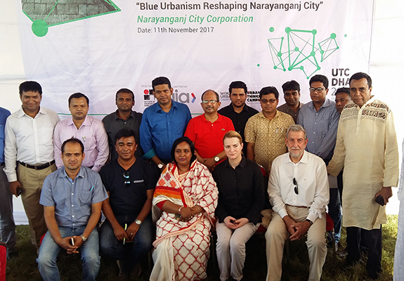 Mayor Selina Hayat visit to Urban Lab
