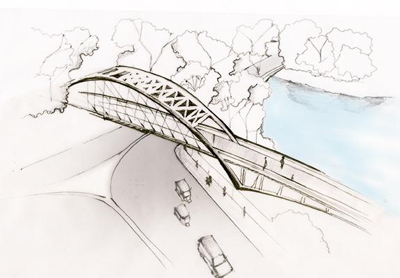 Dhanmondi Rabindro Sarobar Bridge